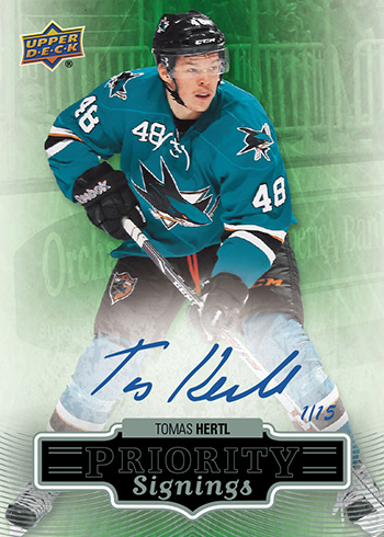 2014-NHL-Upper-ock-Spring-Expo-Priority签名 - 签名 -  Tomas-Hertl