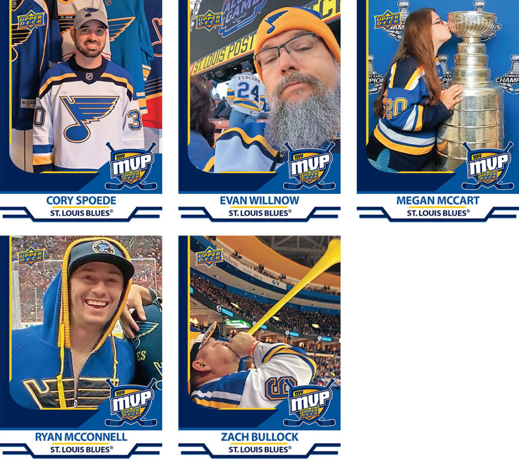 MyMVP St Louis Blues Team MVP提名人